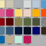 Jersey Color Card